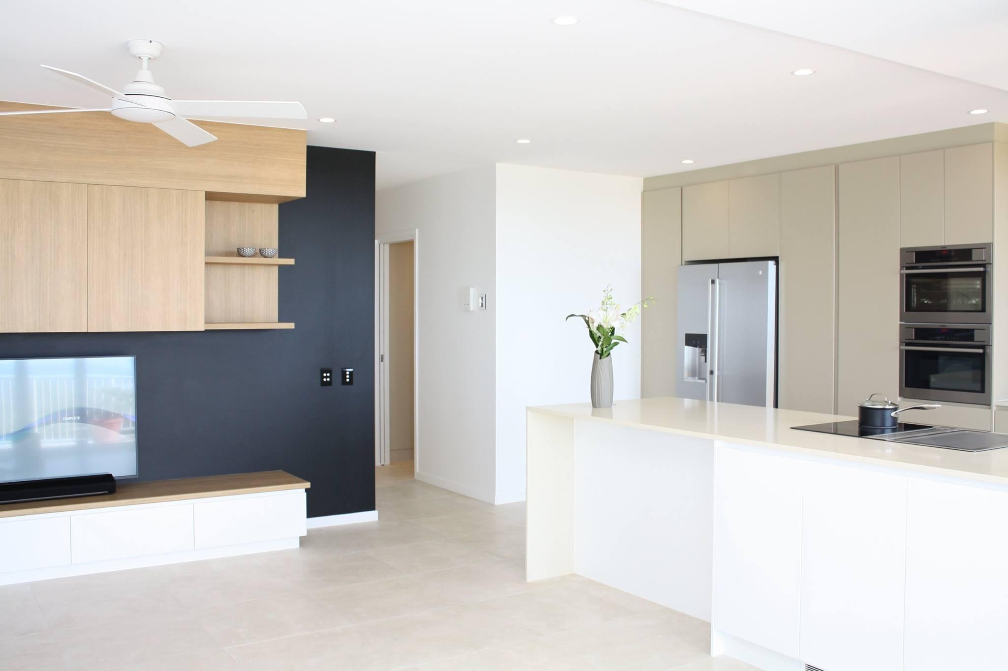 Sunshine Coast House Builders - grey kitchen