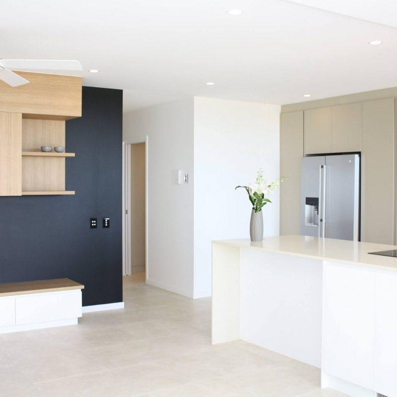 custom home builders Sunshine Coast open plan kitchen