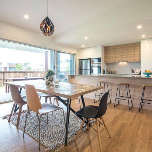 Extensions Sunshine Coast - light open plan dining room